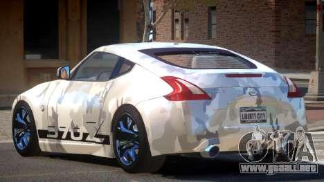 Nissan 370Z TR PJ1 para GTA 4
