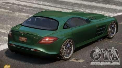 Mercedes SLR 722 para GTA 4