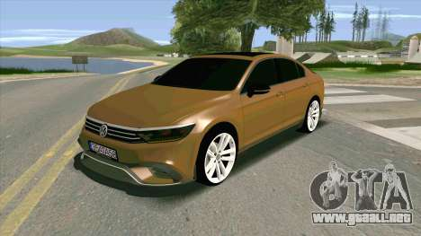 Volkswagen Passat B8 Turkiye para GTA San Andreas