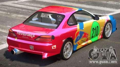 Nissan Silvia S15 M-Sport PJ6 para GTA 4