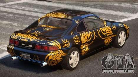 Toyota MR2 GT Sport PJ6 para GTA 4