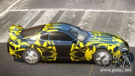 Toyota Supra G-Style PJ1 para GTA 4