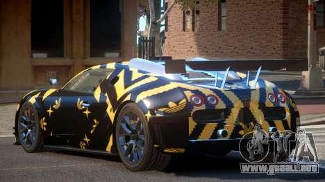 Bugatti Veyron SR 16.4 PJ3 para GTA 4