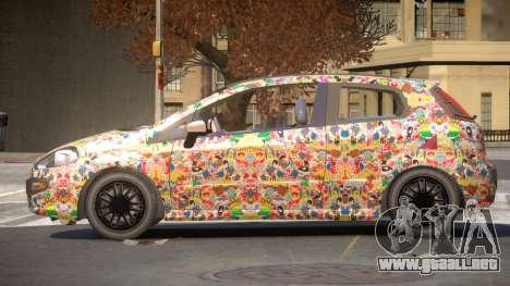 Fiat Punto TR PJ5 para GTA 4