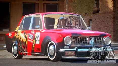 VAZ 2101 BR PJ6 para GTA 4