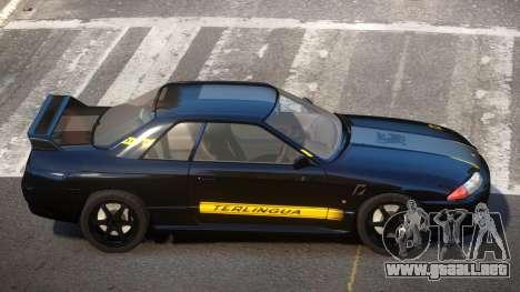 Nissan Skyline R32 V-Style PJ4 para GTA 4