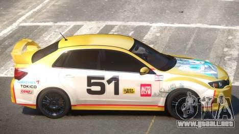 Subaru Impreza WRX SR PJ6 para GTA 4