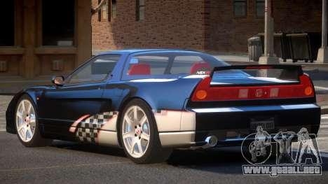 Honda NSX Racing Edition PJ5 para GTA 4