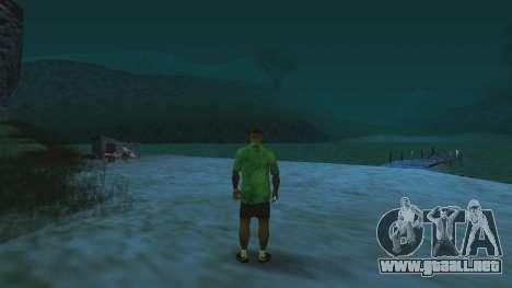 Misterio sillas de ruedas de Laguna Pescador para GTA San Andreas