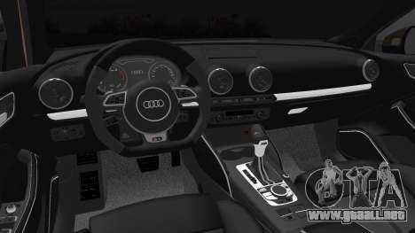 Audi A3 S-Line para GTA San Andreas