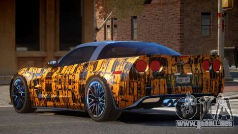Chevrolet Corvette R-Tuned PJ5 para GTA 4