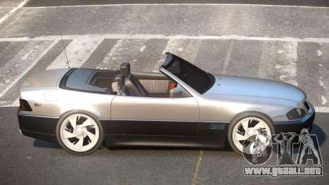 Mercedes Benz SL500 CMR para GTA 4