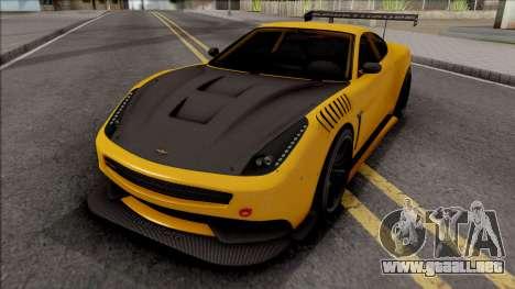 Dewbauchee Massacro Custom para GTA San Andreas