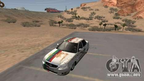 Rusty Lada Priora Daguestán para GTA San Andreas
