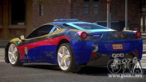 Ferrari 458 SR Police para GTA 4