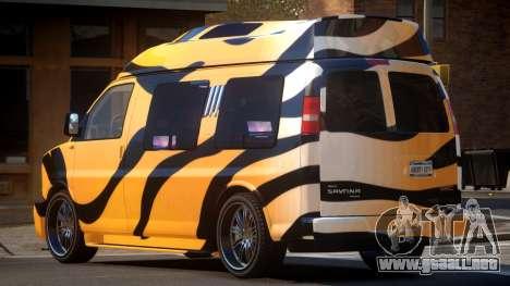 GMC Savana Travels PJ5 para GTA 4