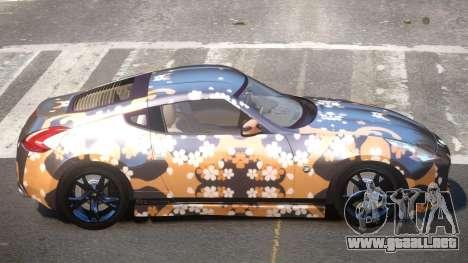 Nissan 370Z TR PJ2 para GTA 4