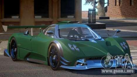 Pagani Zonda R G-Style para GTA 4