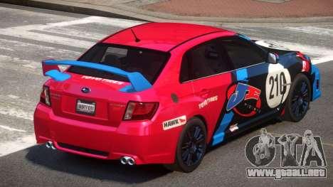 Subaru Impreza WRX SR PJ2 para GTA 4