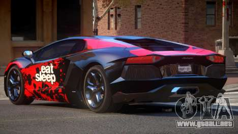 Lamborghini Aventador G-Tuned PJ1 para GTA 4