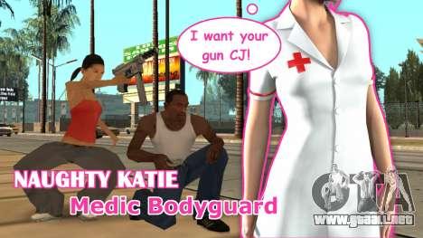 Awesome Medic Bodyguard para GTA San Andreas