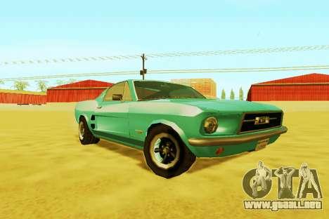Ford Mustang 1970 (SA Style) para GTA San Andreas