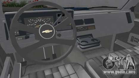 1992 Chevrolet Silverado 3500 Custom para GTA San Andreas