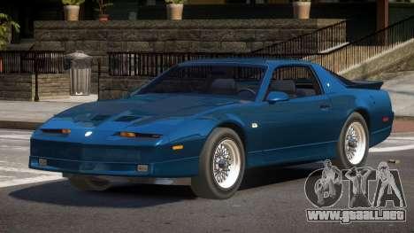 1991 Pontiac Firebird para GTA 4