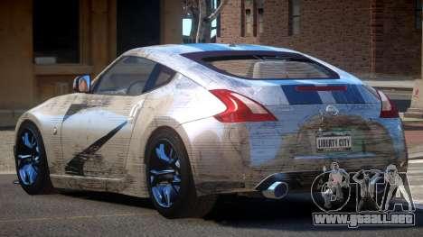 Nissan 370Z TR PJ4 para GTA 4