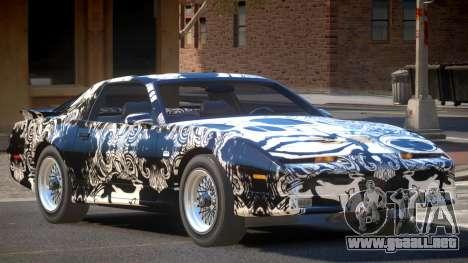 1991 Pontiac Firebird PJ3 para GTA 4