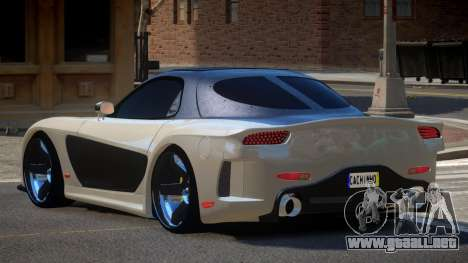 Mazda RX-7 G-Style para GTA 4