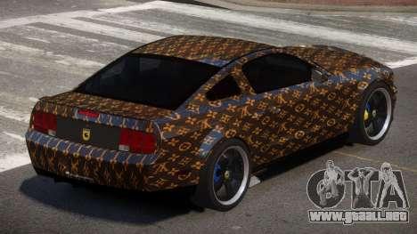 Ford Mustang G-Tuned PJ1 para GTA 4