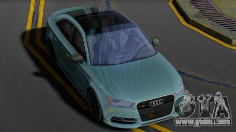Audi S3 8V para GTA San Andreas