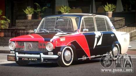 VAZ 2101 BR PJ5 para GTA 4