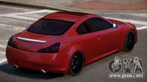 Infiniti G37 S-Tuned para GTA 4