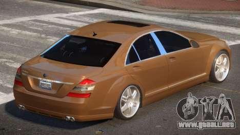 Mercedes Benz W221 B-Style para GTA 4