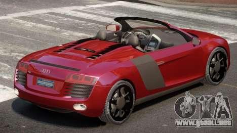 Audi R8 SR para GTA 4