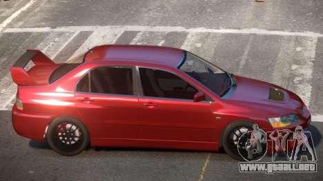 Mitsubisi Lancer IX SR para GTA 4