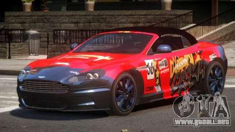 Aston Martin DBS Volante SR PJ1 para GTA 4