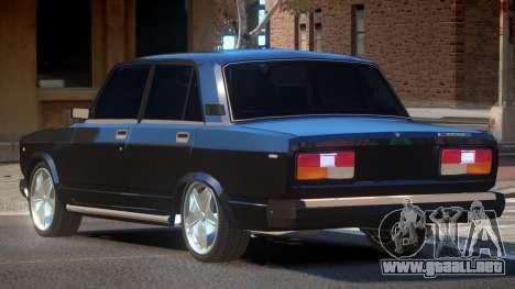 VAZ 2107 RG para GTA 4