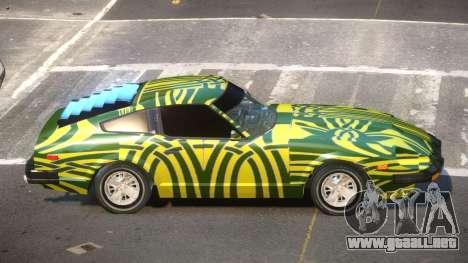 Datsun 280ZX GT PJ1 para GTA 4