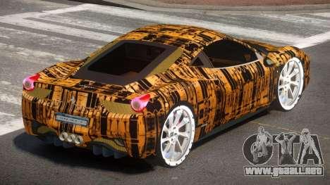 Ferrari 458 R-Tuned PJ5 para GTA 4