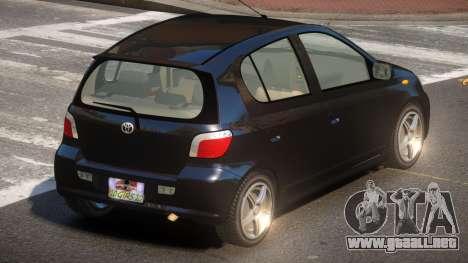 Toyota Vitz V1.0 para GTA 4