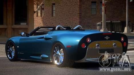 Spyker C8 R-Tuned para GTA 4