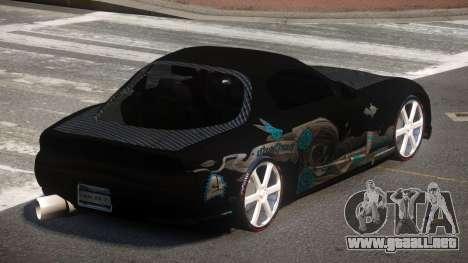Mazda RX7 D-Tuned para GTA 4