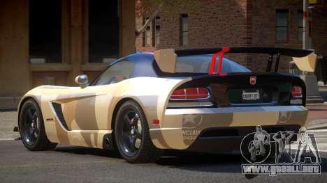 Dodge Viper SRT M-Sport PJ2 para GTA 4