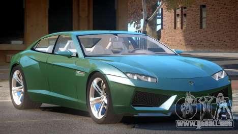 Lamborghini Estoque ST para GTA 4
