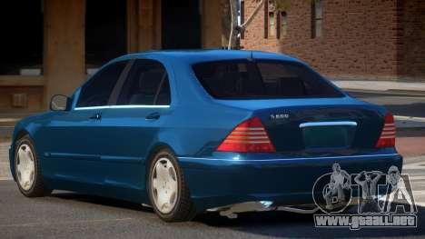 1993 Mercedes Benz S600 para GTA 4