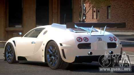 Bugatti Veyron SR 16.4 para GTA 4
