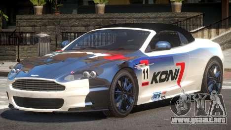 Aston Martin DBS Volante SR PJ4 para GTA 4